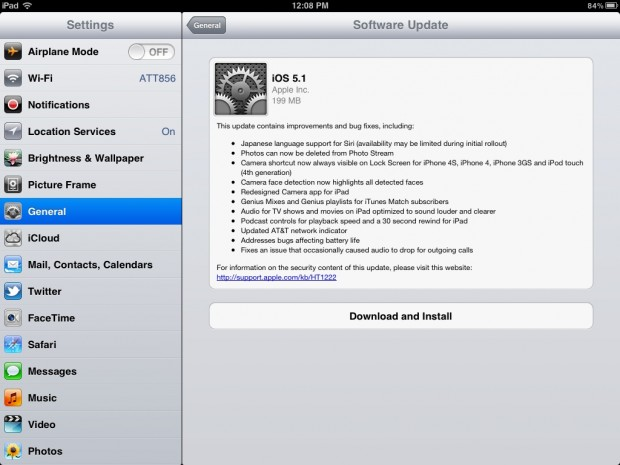 iOS 5.1 Now Available for iPhone, iPad and iPod touch