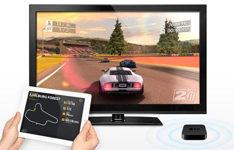 Real Racing 2 Apple iPad Airplay Game