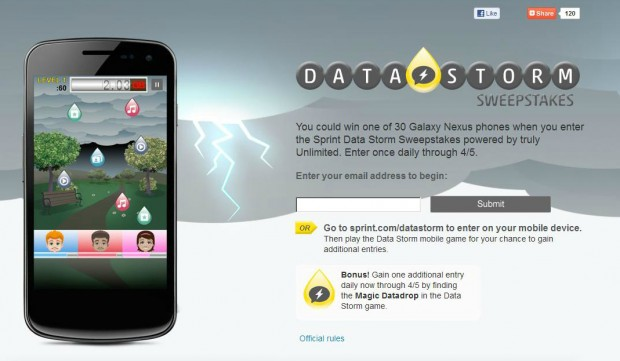 Sprint Galaxy Nexus Release Date Pegged for April 15th
