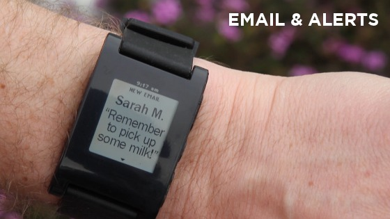 Pebble smart watch for iPhone