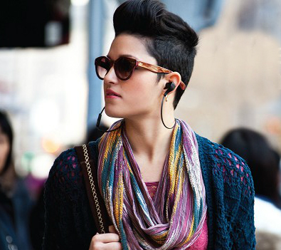 Plantronics BackBeat Go Draped Around the Neck