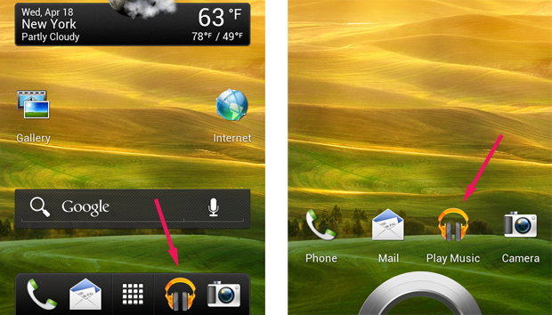 New App on the Lock Screen