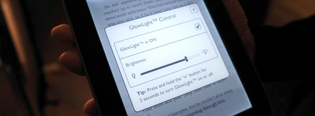 Nook Simple Touch With GlowLight Controls
