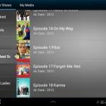 Galaxy Tab 2 Media Hub TV