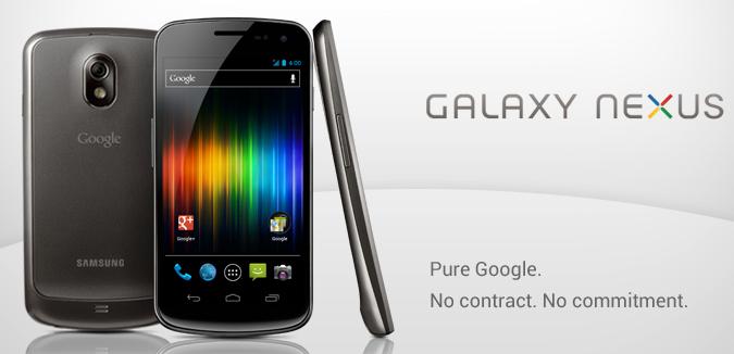Google Play Selling Unlocked Galaxy Nexus for $399