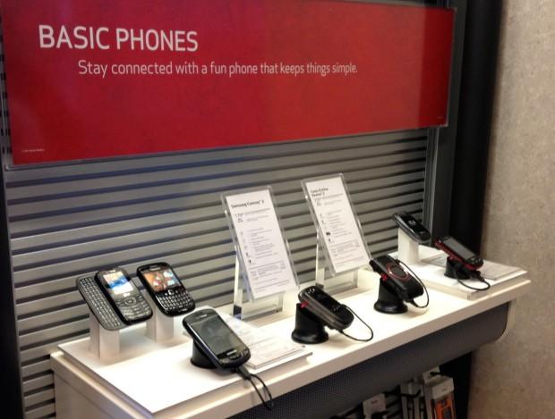 Verizon Basic Flip Phone