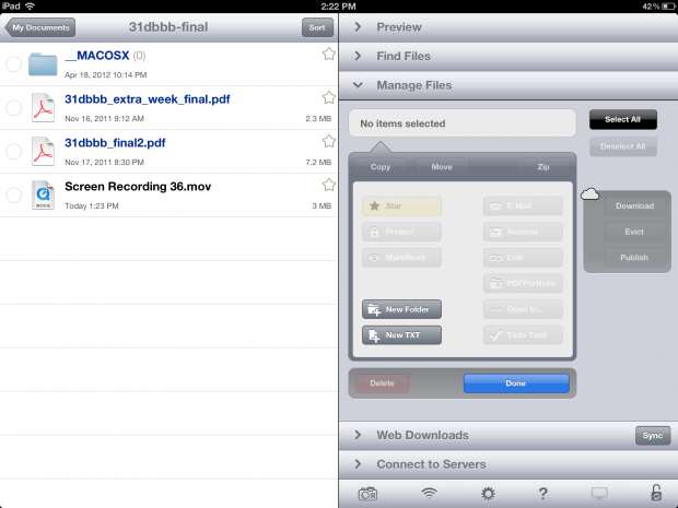 iOS 6 iPhone iPad File Explorer