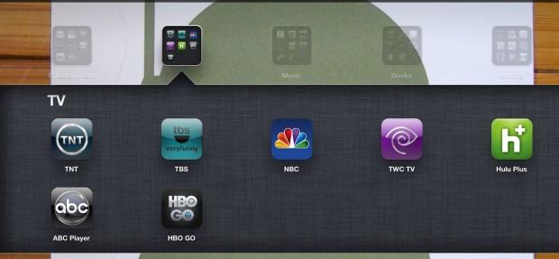 iPad TV Apps