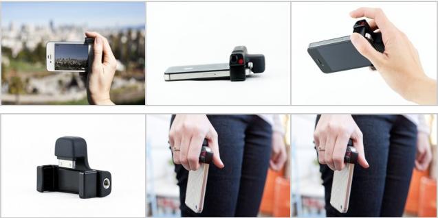 iPhone Shutter Grip