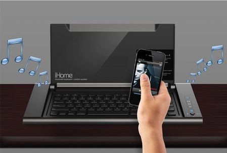 iHome iDM5 works with phones