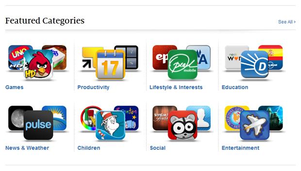 Nook App Store Featured