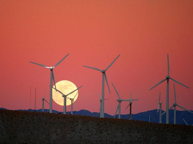 wind turbine cell phone drop
