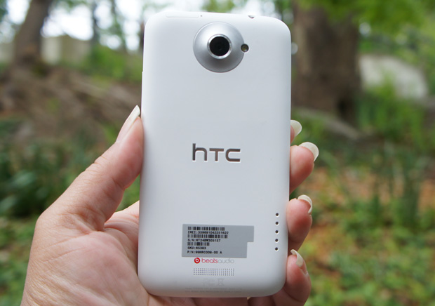 HTC One X back