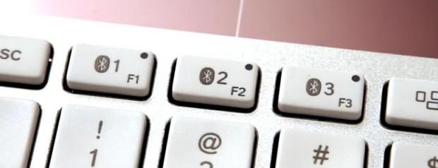Logitech Solar Wireless keyboard