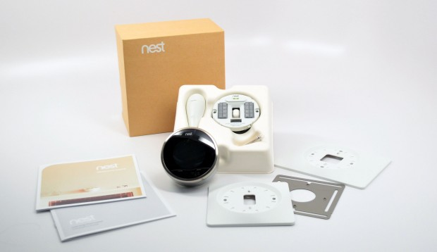 Nest Learning Thermostat Installation Items