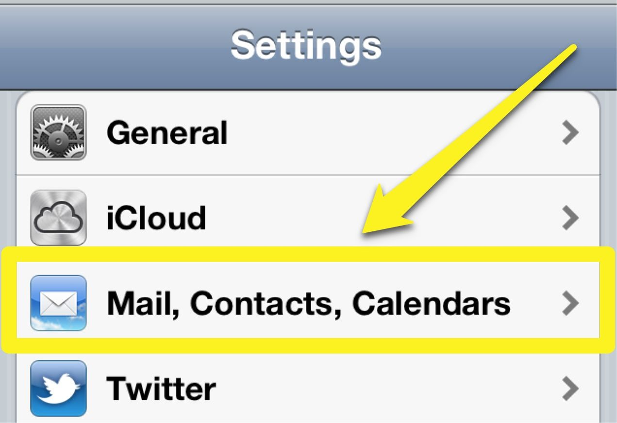 how to get ride of contacts on iphone