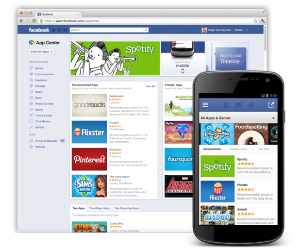Facebook App Center Offers New Way to Find Apps