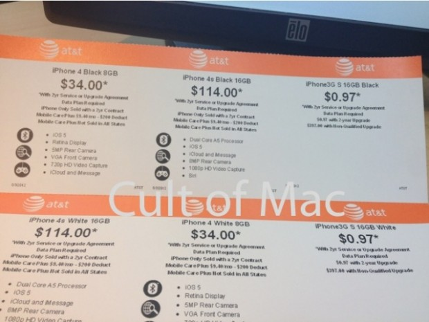 Walmart Slashes iPhone 4S Price in Some Stores