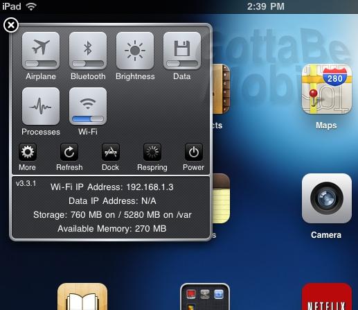 sbsettings new ipad jailbreak app