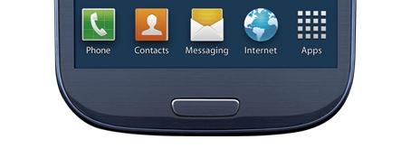 Galaxy S III Home button