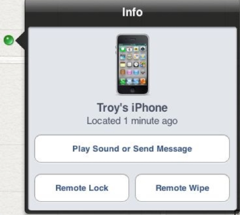 How to setup find my iphone on iphone 6