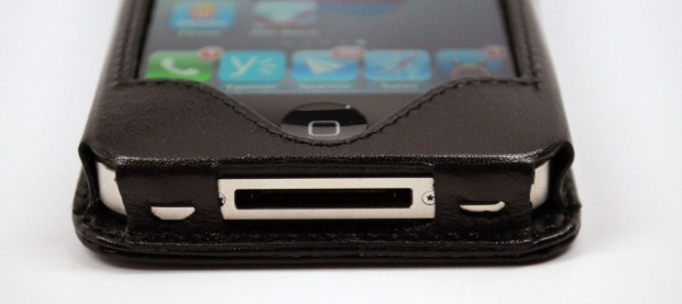 Sena WalletSlim iPhone 4S Wallet Case Review - bottom