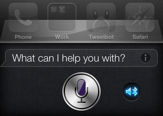 Siri Bluetooth Choice
