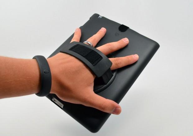 SlateSHIELD Review - grip rear