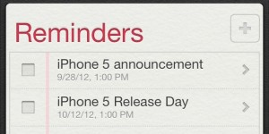 iPhone 5 release date rumors