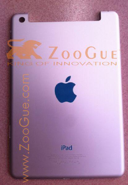 Alleged Photos of iPad Mini Leak