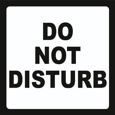 sign-do-not-disturb