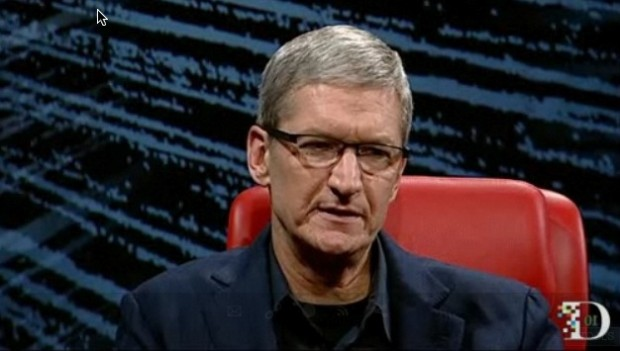 Tim Cook at D Conference