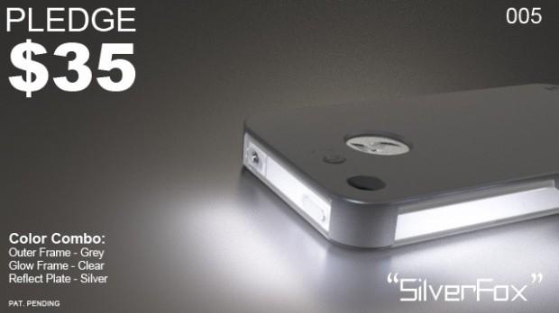 FLASHR iPhone 4S case LED alert