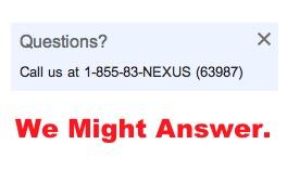 Nexus 7 customer Support