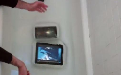 Nexus 7 vs iPad drop test