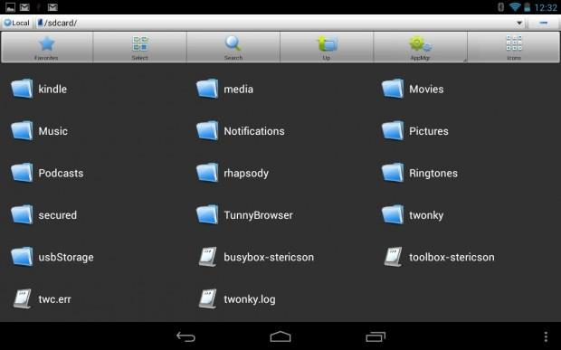 USB drive on Nexus 7