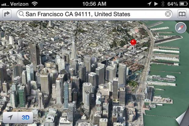 iOS 6 Apple Maps