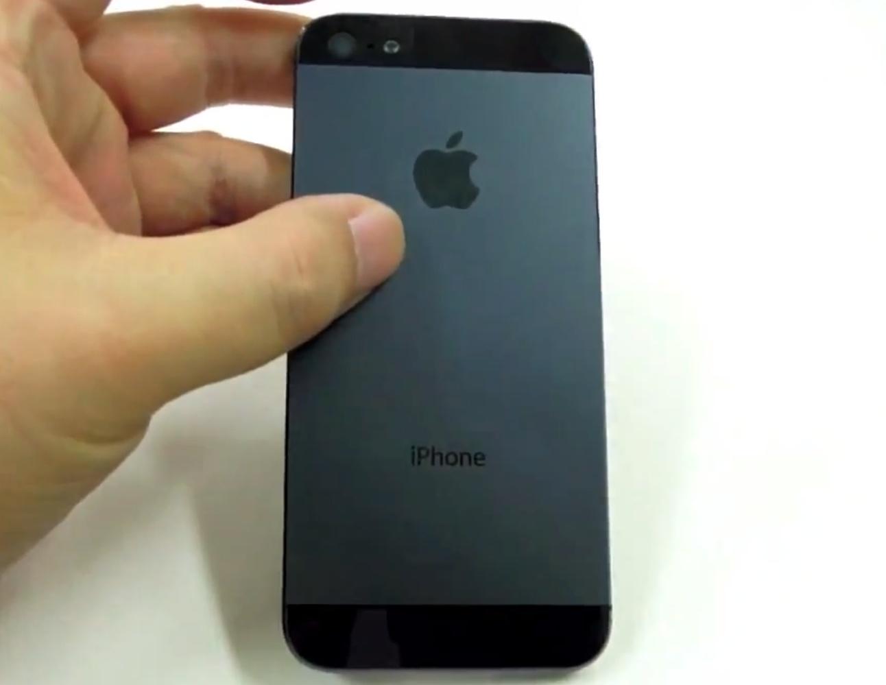 iPhone 5 video