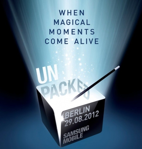 Galaxy Note 2 Launch Date August 29th Confirmed