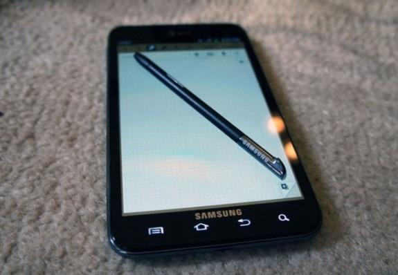 Galaxy Note 2 Release Date - Stylus