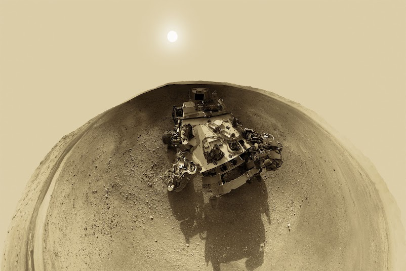 Mars Panorama Stunning