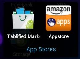 Nexus 7 Apps - App Stores