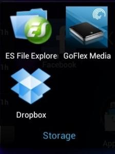 Nexus 7 Apps - Storage