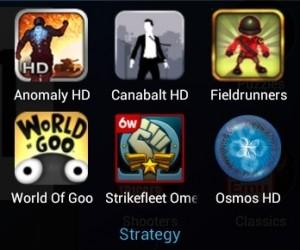 Nexus 7 Apps - Strategy
