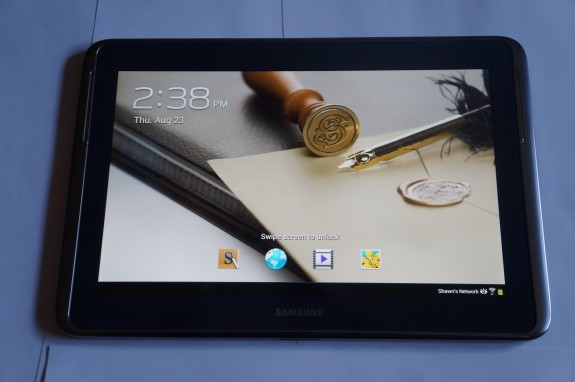 Samsung Galaxy Note 10.1 review 1