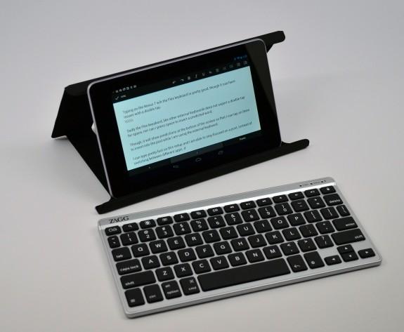Zagg Flex Keyboard Review - Nexus 7 use