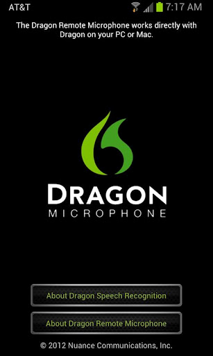 dragon remote mic