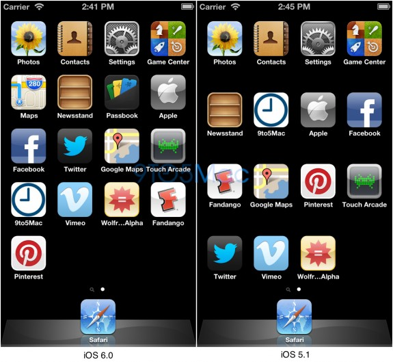 iOS 6 640x1136 iPhone 5