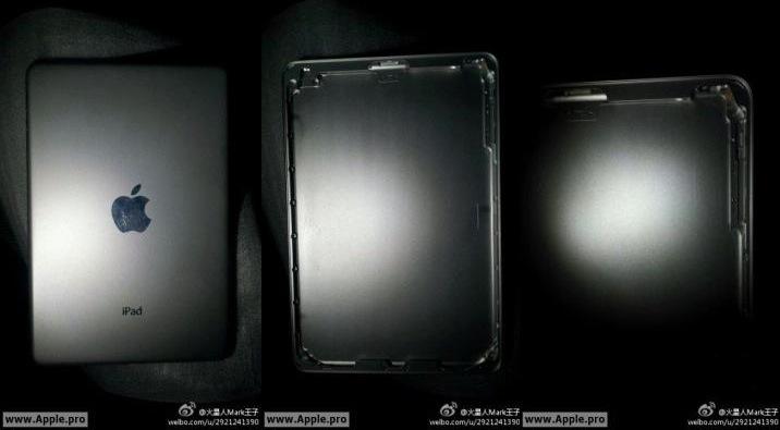 iPad Mini back no camera opening
