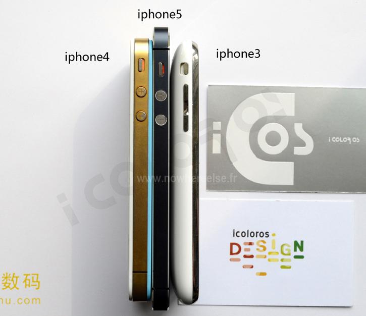iPhone 5 comparison